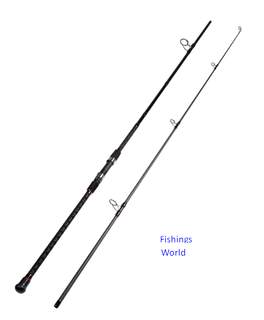FIBLINK SURF FISHING ROD 2-PIECE CARBON TRAVEL FISHING ROD (12-FEET and 10-FEET) REVIEW