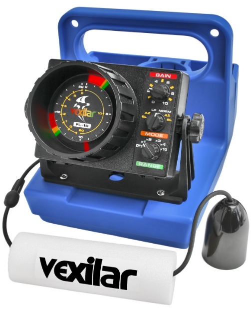 FL-18 Vexilar GP1812 Genz Pack 12 Best Ice Fishing Fish Finder