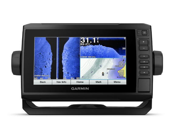 Garmin Echomap Plus 73SV with CV52HW-TM transducer