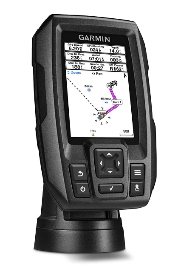 Garmin Striker 4 with Transducer Best Kayak Fish Finder