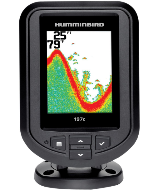 Humminbird 409670-1 PiranhaMax 197C Color Best Depth Finder