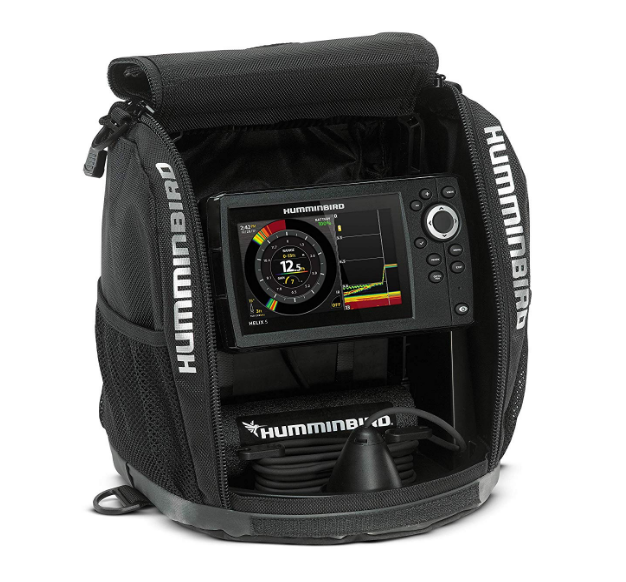 ICE-55 Humminbird Six Color Flasher Best Ice Fishing Fish Finder