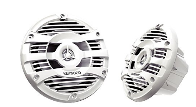 "Kenwood KFC-1653MRW 6.5"" 2-way Best Marine Speaker"