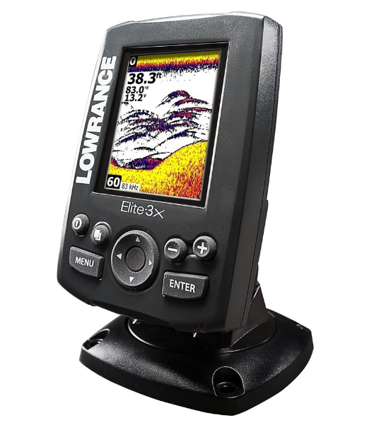 Lowrance Elite-3X 000-11448-001 Best Ice Fishing Fish Finder