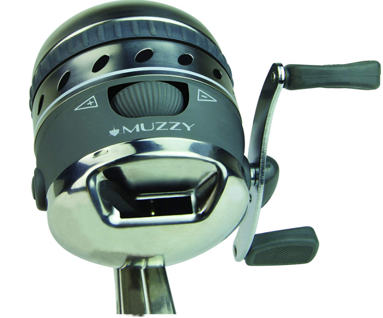 Muzzy 1069 XD Pro Spin Style Best Bowfishing Reel