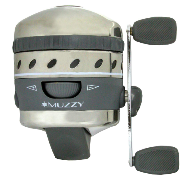Muzzy 1077Xd Pro Spin Style Best Bowfishing Reel
