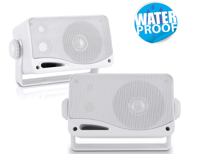 Pyle - 3-Way Weatherproof Best Marine Speaker