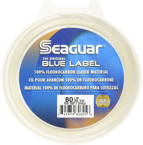Seaguar Blue Label 25 Yards Best Fluorocarbon Line