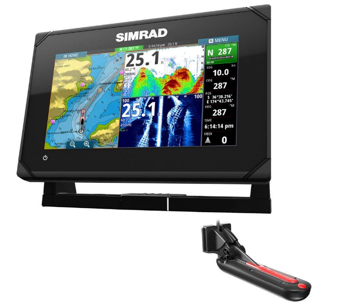 Simrad GO7 XSE Chartplotter Best Fish Finder GPS Combo
