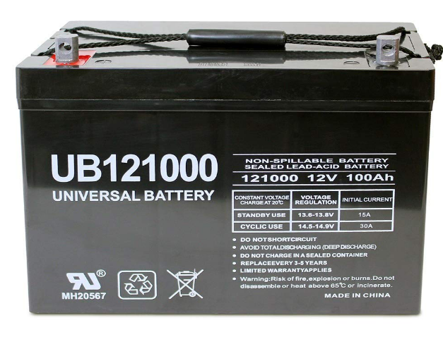 Universal UB121000-45978 Best AGM Battery