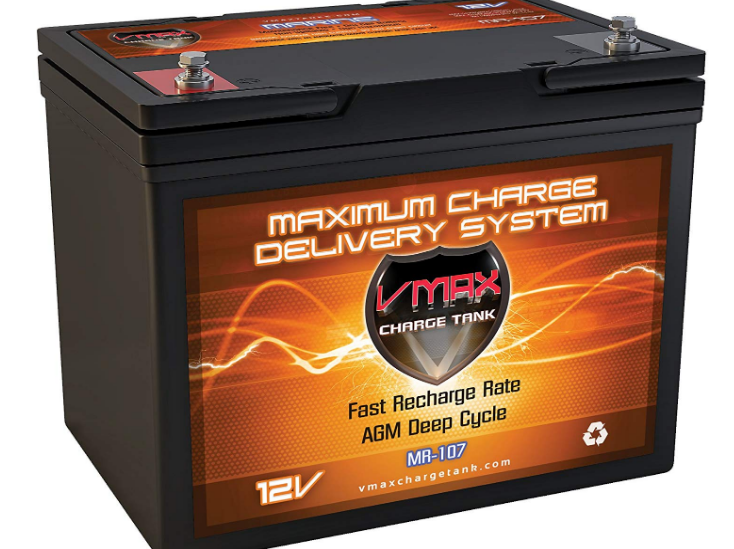 Vmaxtanks MR107 12V 85AH Best AGM Battery