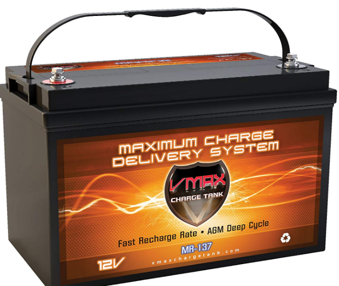 Vmaxtanks MR137 120AH Best AGM Battery