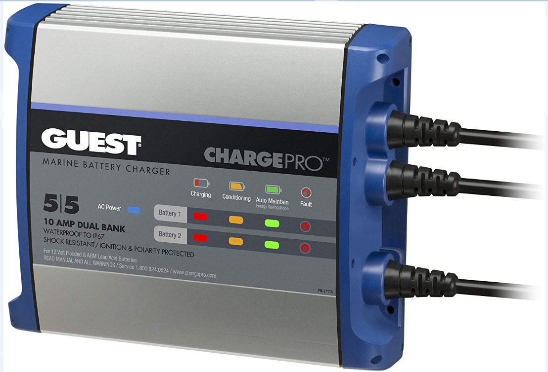 Guest ChargePro On-Board Waterproof Battery Chargers
