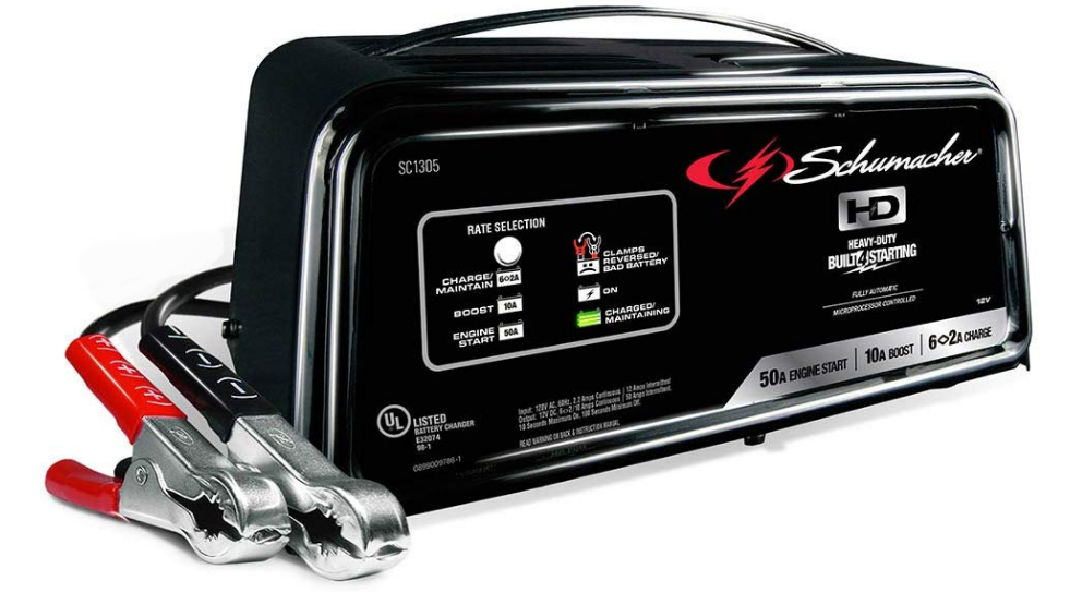 Schumacher Fully Automatic Marine Battery Charger