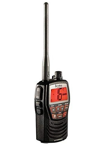 Cobra MRHH125 3 Watt Waterproof VHF Marine Radio