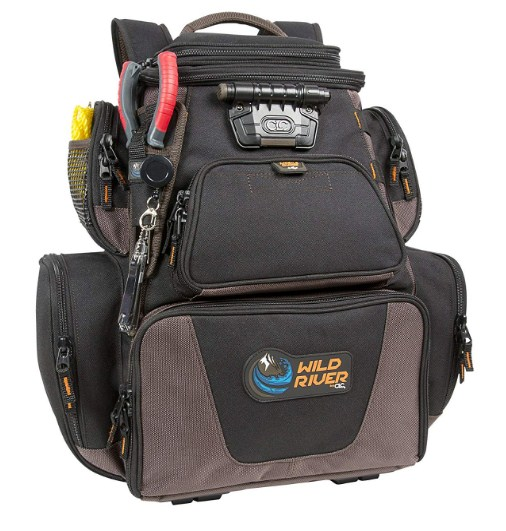 Wild River by CLC Custom Leathercraft Tackle Best Fishing Backpack