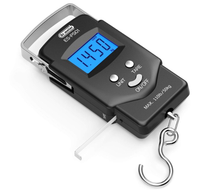 Dr.meter PS01 110lb/50kg Electronic Balance Digital Best Fish Scale
