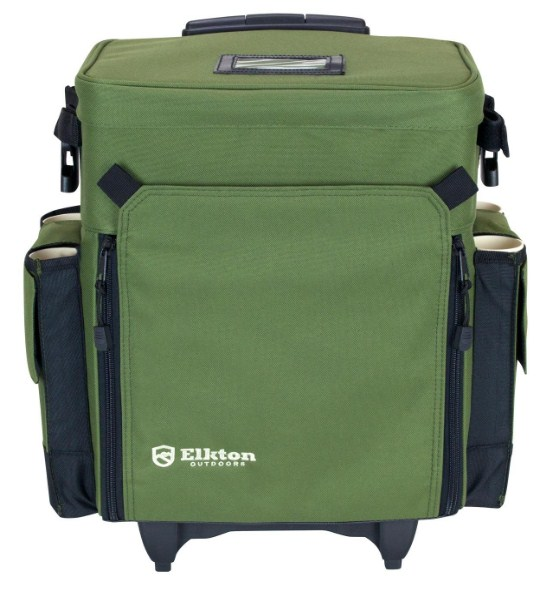 Elkton Outdoors Rolling Best Tackle Box