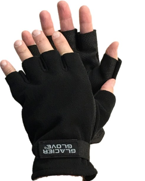 Glacier Glove Alaska River Series Fingerless Best Fishing Gloves
