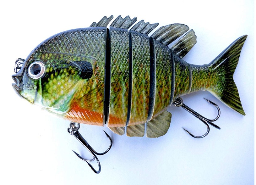 Soljer Blue Gill Sun Fish Panfish Talipia Best Lure For Bass Fishing