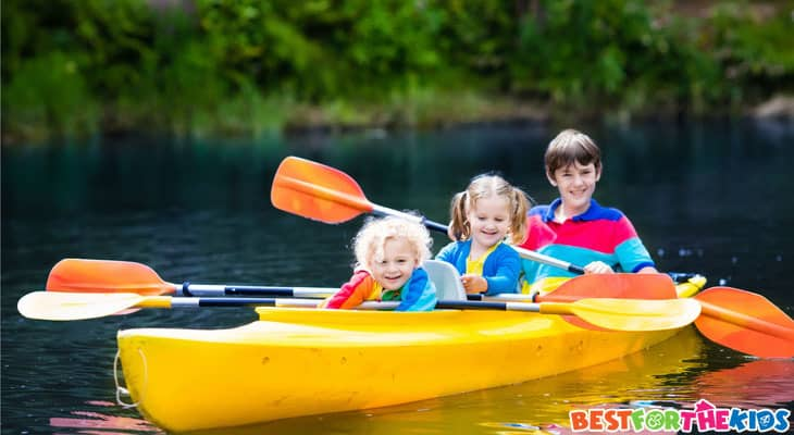 HowTo Kayak With Kids