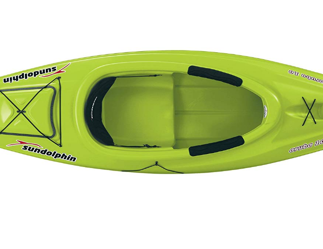 SUN DOLPHIN 10 Foot Aruba Best Kayaks for Fly Fishing