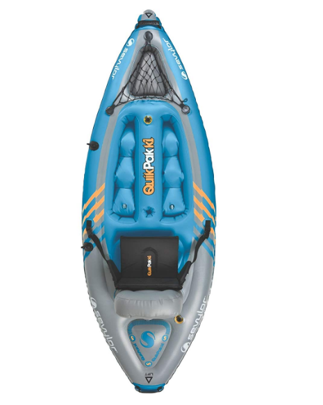 Sevylor Quikpak K1 1-Person Best Beginner Kayak