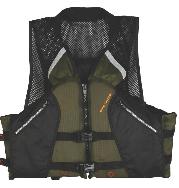 Stearns Comfort Series Collared Angler Best Life Jacket